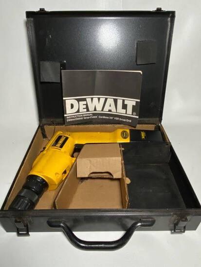"DeWalt Cordless 3/8"" VSR Driver/Drill with Case"
