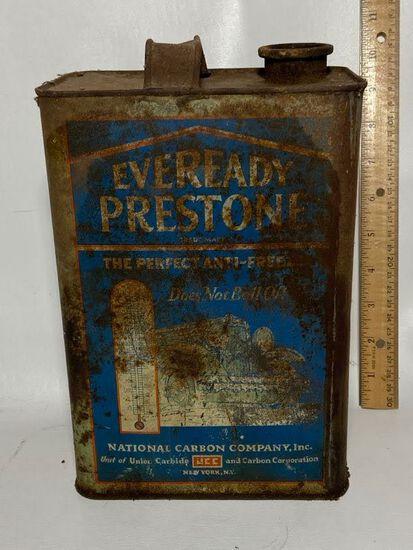 Eveready Preston's Advertisement Anti-Freeze Can