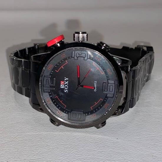 Soxy Men's Alloy Quartz Watch