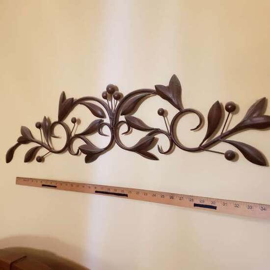 Metal Wall Décor,  Bronze Tone