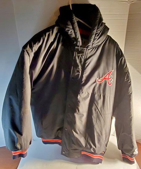 Vintage Atlanta Braves Jacket by Starter Size Large