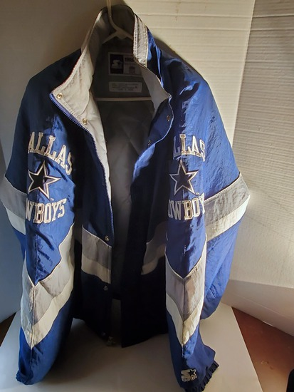 Vintage Dallas Cowboys Starter Jacket Size XL