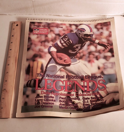 1984 NFL Calendar