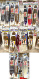 Lot of 55 Various Hair Pieces