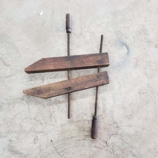 Antique Jorgensen Wood Vise