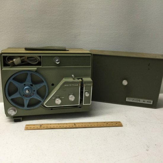 Vintage Keystone K-519 8mm/Super 8 Film Projector | Auctions