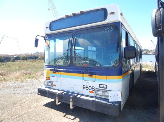 1998 NEWFLYER PASS BUS W/WC RAMP (NON COMPLIANT)(NON RUNNER)