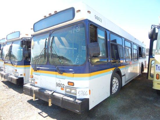 1998 NEW FLYER PASS BUS W/WC RAMP (NON COMPLIANT)(NON RUNNER)
