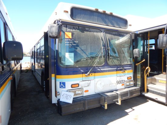 1998 NEW FYLER PASS BUS W/WC RAMP (NON COMPLIANT)(NON RUNNER)