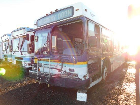 98 NEWFLYER D35LF PASS BUS W/WC RAMP (NON RUNNER)