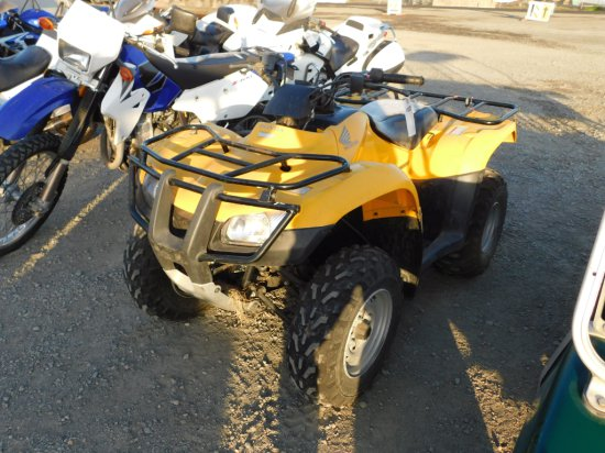 2007 HONDA RECON ATV