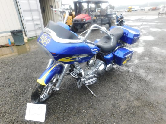 2005 HARLEY DAVIDSON ROAD GLIDE MOTORCYCLE(COURT PAPERS)(DMV FEES=$502+)