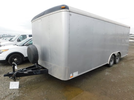 2010 CARGO TRAILER MATE BLAZER CAR TRAILER