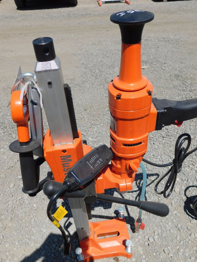 NEW & UNUSED MUSTANG ELECTRIC CORE DRILL