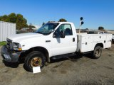 2002 FORD F-350 4X4 DUALLY UTILITY TRUCK