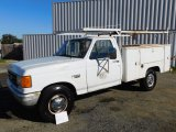 1987 FORD F-250 UTILITY PICKUP TRUCK