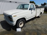1983 FORD F250 UTILITY PICKUP TRUCK