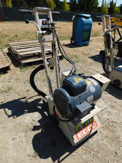 EDCO CPM8-5B/230/1 ELECTRIC WALK BEHIND CONCRETE SCARIFIER