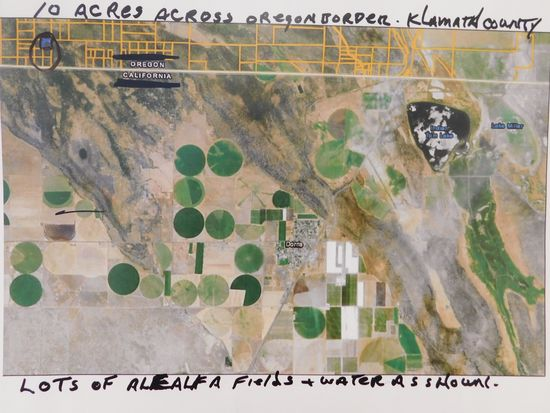#3 - 10 ACRES ACROSS OREGON BORDER - KLAMATH COUNTY