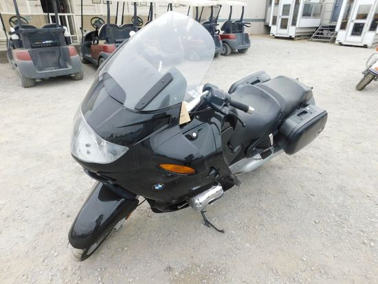 2004 BMW R/RT1100 2 CYLINDER MOTORCYCLE