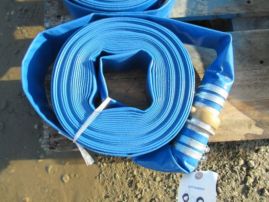 "2018 NEW & UNUSED 2"" X 50' DISCHARGE WATER HOSE"