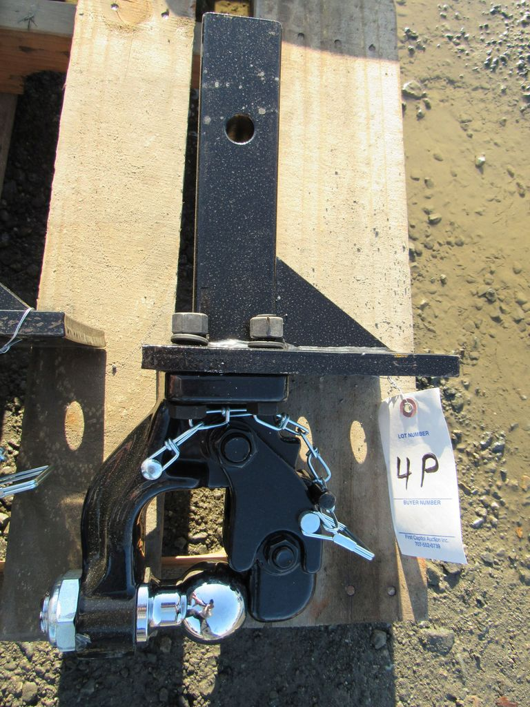 2018 NEW & UNUSED STIFF NECK PINTLE HITCH