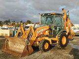 2013 CASE 580N 4X4 BACKHOE LOADER