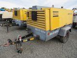 2011 ATLAS COPCO XATS 375 JD6 TOWABLE AIR COMPRESSOR