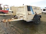 1995 INGERSOLL RAND P185 TOWABLE AIR COMPRESSOR