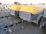 2011 ATLAS COPCO XAS 185 TOWABLE AIR COMPRESSOR