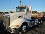 2009 PETERBILT 384 3 AXLE TRUCK TRACTOR