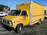 1988 GMC VANDURA 3500 BOX TRUCK