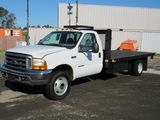 1999 FORD F-450 SUPER DUTY FLATBED TRUCK