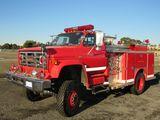 1981 GMC FIRE TRUCK (BILL OF SALE ONLY)