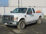 2008 FORD F-250 SUPER DUTY 4X4 PICKUP TRUCK