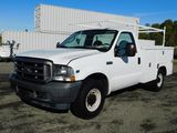 2004 FORD F-250 SUPER DUTY UTILITY PICKUP TRUCK