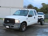 2007 FORD F-350 SD CAB & CHASSIS