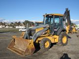 2008 JOHN DEERE 410J 4X4 BACKHOE LOADER (NON COMPLIANT)