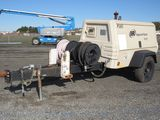2010 INGERSOLL RAND P185 TOWABLE AIR COMPRESSOR