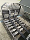 NEW & UNUSEDJBX4000SKID STEER FORK ATTACHMENT