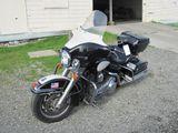 2008 HARLEY DAVIDSON ELECTRA-GLIDE POLICE MOTORCYCLE