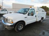 2003 FORD F-250 UTILITY TRUCK W/ TOOL BOXES