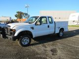 2008 FORD F-350 UTILITY PICKUP TRUCK