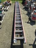 (2) EXTENSION LADDERS