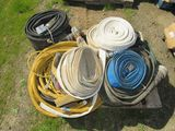 LOT OF DISCHARGE HOSE