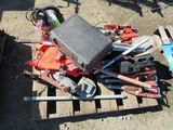 LOT OF POWER TOOLS & HAND TOOLS