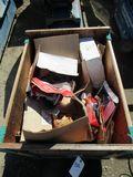 BOX OF ASST CAR PARTS
