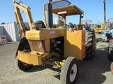 1985 FORD 6610 UTILITY TRACTOR W/ TIGER SIDE BOOM MOWER (NON COMPLIANT)