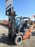 TOYOTA 8FGU25 WAREHOUSE FORKLIFT(MECH ISSUES)