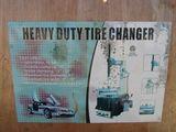 NEW & UNUSED HEAVY DUTY TIRE CHANGER
